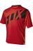 Fox Ranger Koszulka kolarska Mężczyźni czerwony/czarny